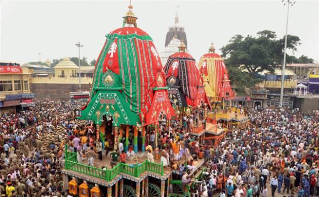 Ceremoinial bathing 'Snana Jatra' of Lord Jagannath celebrated in Puri amid high security (Representative Image)