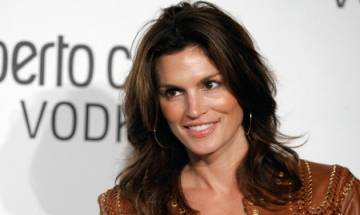 American supermodel Cindy Crawford admits ageing was never easy