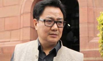 Kiren Rijiju rubbishes reports of trouble in NE following Centre's notification on cow slaughter