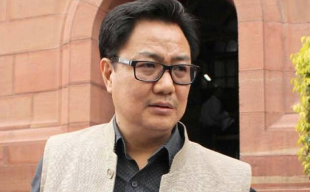 Minister of State for Home Affairs Kiren Rijiju (File Photo)