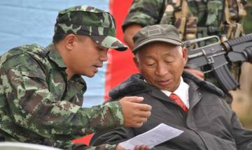 Shangwang Shangyung Khaplang commander-in-chief of NSCN-K dies of cardiac arrest