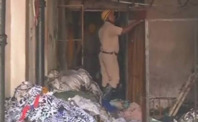 Delhi: Fire breaks out in Aakarsh Exports building in Okhla Phase 1 area, one fireman injured