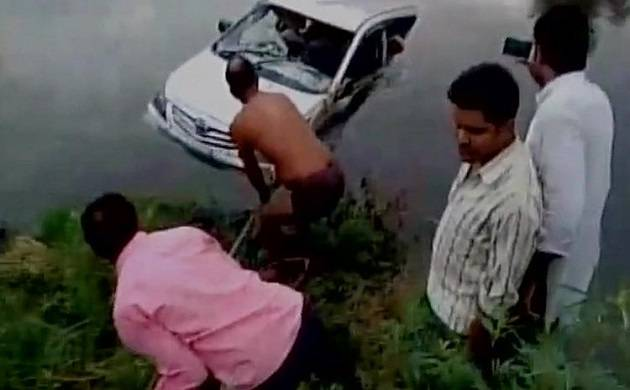 UP: Car falls into canal in Makera area near Mathura, 10 pilgrims die