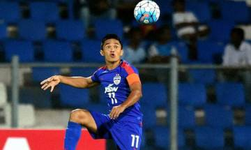 AFC Asian Cup Qualifier: Sunil Chhetri's lone strike helps India edge Kyrgyzstan 1-0 in hard fought encounter