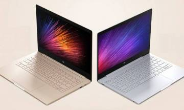 Xiaomi Notebook Air takes on MacBook Air with powerpacked Intel 7th generation processor, fingerprint sensor, cutting edge features