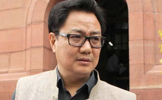 Union Minister of State for Home Kiren Rijiju (Image: PTI)