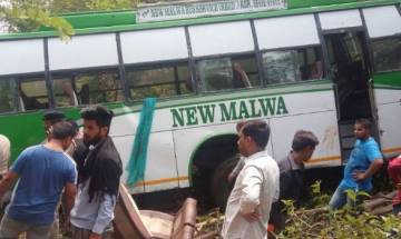 Himachal Pradesh: 10 killed as tourist bus falls into gorge