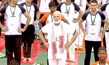 International Yoga Day: PM Narendra Modi performs 'asanas' in Lucknow | Top quotes
