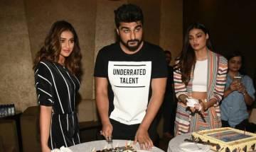 Arjun Kapoor celebrates birthday with Mubarakan co stars Ileana D'cruz and Athiya Shetty; Check out pics and video