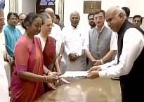 Presidential poll 2017: Meira Kumar files her nomination in presence of Sonia Gandhi, other Opposition leaders