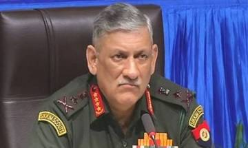 Army Chief Gen Bipin Rawat briefed on security situation amid face-off between India, China
