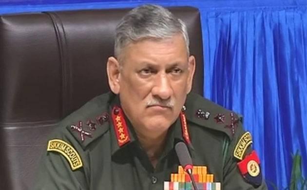 Army Chief General Bipin Rawat (File photo)