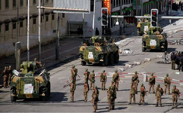 Amid Sikkim standoff Chinese Army tests battle tank in Tibet near Indian border