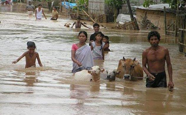 Assam floods: More than two lakh people affected in eight districts (Source: PTI)