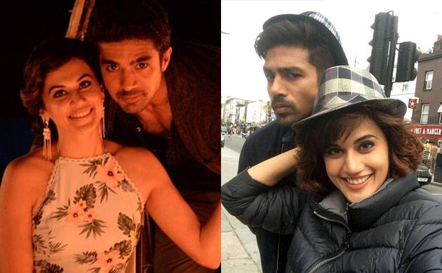 Saqib Saleem clears the air about his relationship with Taapsee Pannu