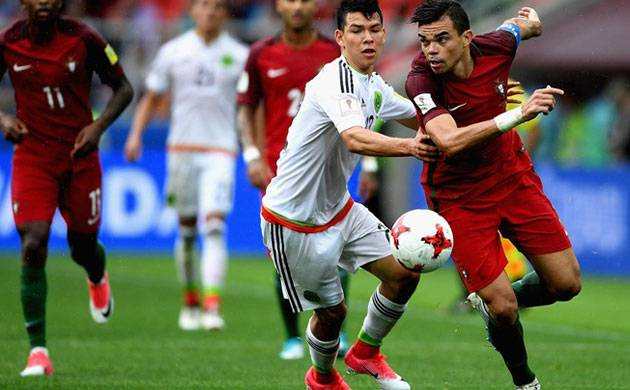 Portugal beat mexico in Confederations Cup