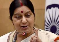 Sushma Swaraj lauds Shivraj Singh Chouhan for initiative to protect Narmada