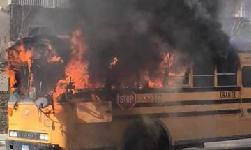 18 dead, more than 30 injured as bus catches fire after crash in Bavaria, Germany