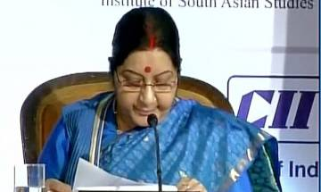 Sushma Swaraj at 'Delhi Dialogue-IX: 'We place ASEAN at heart of our Act East Policy'