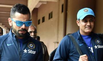 Anil Kumble, Virat Kohli didn't communicate much during ICC Champions Trophy, says 'Team India' manager