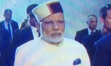 Anurag Thakur hails PM Narendra Modi's use of Himachal cap in Israel on Twitter