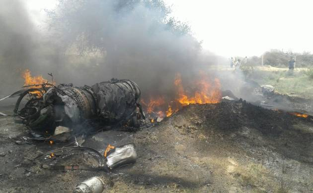 Rajasthan: IAF MIG-23 helicopter crashes in Balesar; both pilots ejected safely