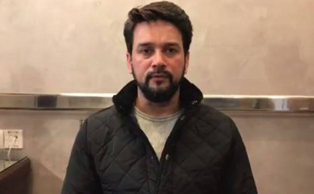 SC asks former BCCI President Anurag Thakur to tender unconditional apology (File Photo)