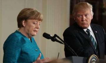 Trump isolated over climate sceptic stance, says G20 host Angela Merkel