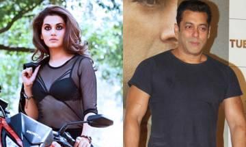 'Judwaa 2': Taapsee Pannu confirms Salman Khan's cameo in Varun Dhawan-starrer