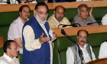 JK Finance Minister wants Opposition MLA to salute him for passage of special GST bill for state