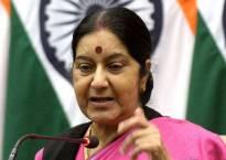 Sushma Swaraj attacks Sartaj Aziz on grant of medical visas for Pak nationals