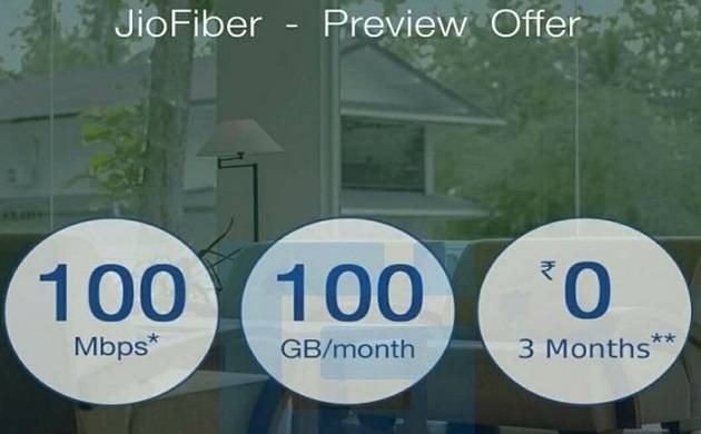 Reliance Jio JioFiber: Broadband service to offer 100GB data per month at 100 Mbps speed this Diwali