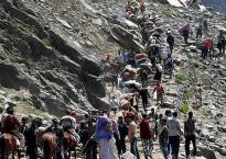 Undeterred by Amarnath terror attack, more pilgrims head to holy shrine