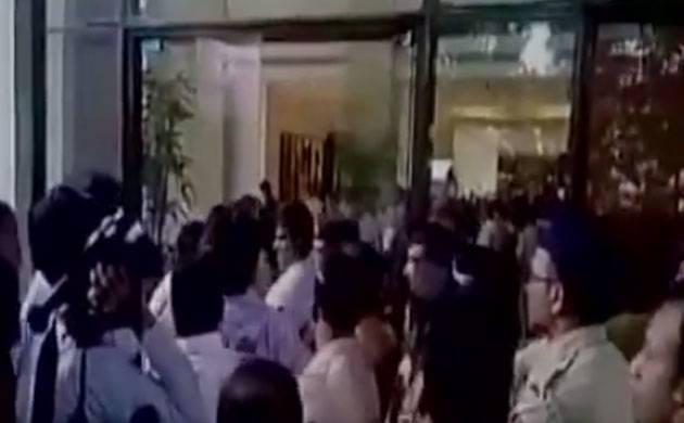 'Indu Sarkar': Congress workers create ruckus at press conference (Image: ANI)