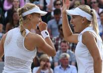 Makarova, Vesnina register comprehensive victory at Wimbledon women's doubles final