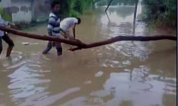 Heavy rains lash parts of Gujarat; three dead, hundreds relocated
