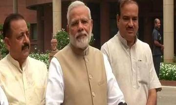 Monsoon session of Parliament | Growing together, stronger another name of GST spirit: PM Modi