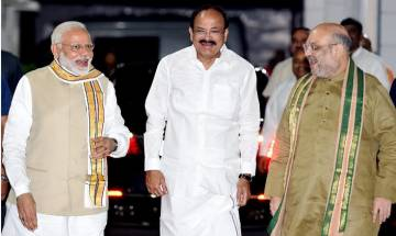 BJP's Venkaiah Naidu is NDA's vice presidential nominee, to file nomination on Tuesday