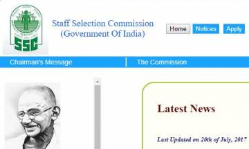 SSC CGL exam 2017: Staff Selection Commission gives new exam date at ssc.nic.in; checl here