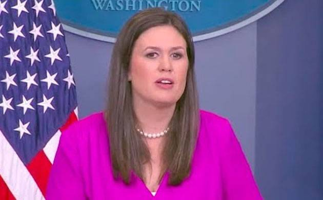 United States appoints Sarah Sanders as White House press secretary (Image: PTI)