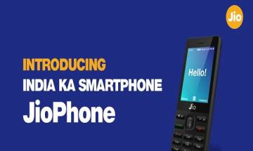 Reliance JioPhone 4G VoLTE feature phone launched: Specifications, price, availability