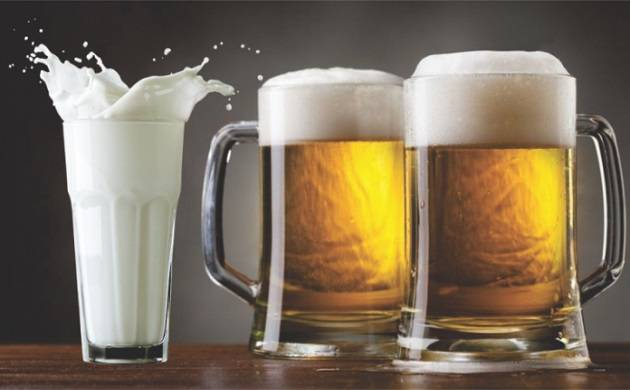 Having beer a day instead of cow milk may help you posses good health