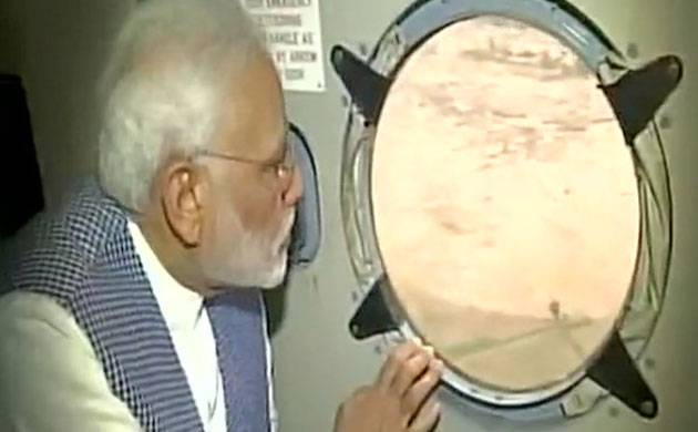 Gujarat Floods: PM Modi takes aerial survey, announces ex-gratia of Rs 2 Lakh for kin of deceased, Rs 50,000 to injured
