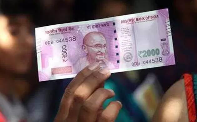 Reserve Bank of India Rs 2000 note- File Photo