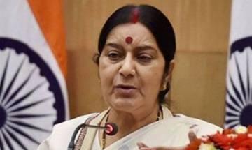 India has raised Tibet, stapled visa given by Beijing in Arunachal Pradesh with China, informed Sushma Swaraj to Rajya Sabha