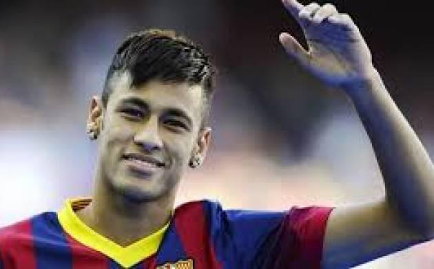 Barcelona Striker Neymar - File Photo