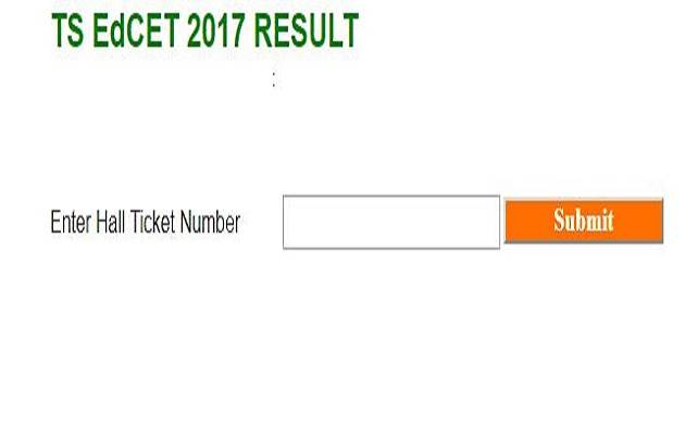 TS EdCET Result 2017 announced by Osmania University