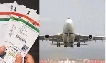 No plans to make Aadhaar mandatory for domestic flights: Govt to MPs