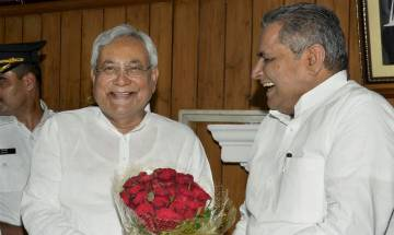 Bihar cabinet reshuffle:  Nitish Kumar gets new cabinet with 27 new ministers; 14 from NDA, 12 from JD(U) take oath
