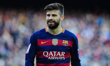 Gerard Pique scores winning goal for Barcelona in El Clasico